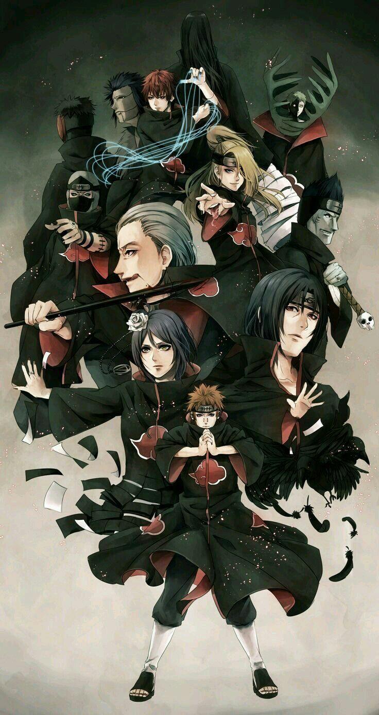 The Akatsuki in 2020 Naruto shippuden anime, Wallpaper
