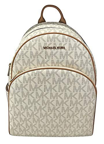 8f5b3e79fb8e Great for Michael Kors Michael Kors Abbey Jet Set Large Leather Backpack  Vanilla 0104 Sports Fitness online.   216.94  topbrandsclothing from top  store