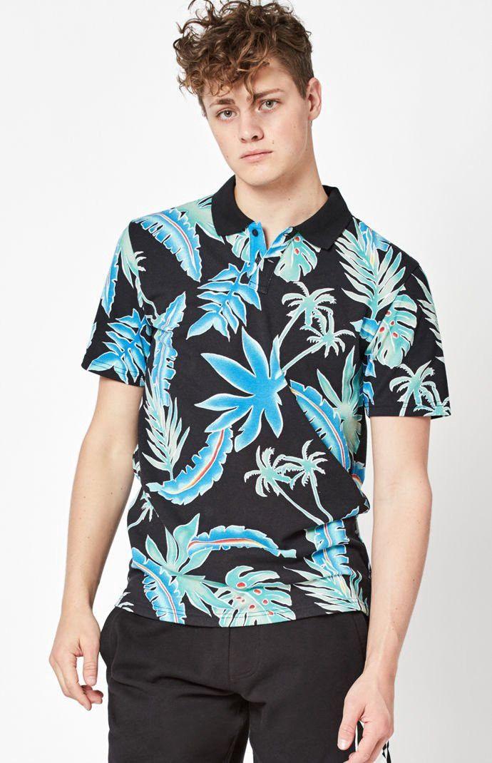 Vans Pit Stop Polo Shirt - Multi Color Med  a2582106a1