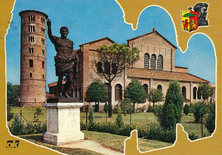 Basilica of Sant'Apollinare in Classe, Ravenna, Italy - Flickr by @Striderv [ #ravenna #myRavenna #illustrator #vintage #posters]