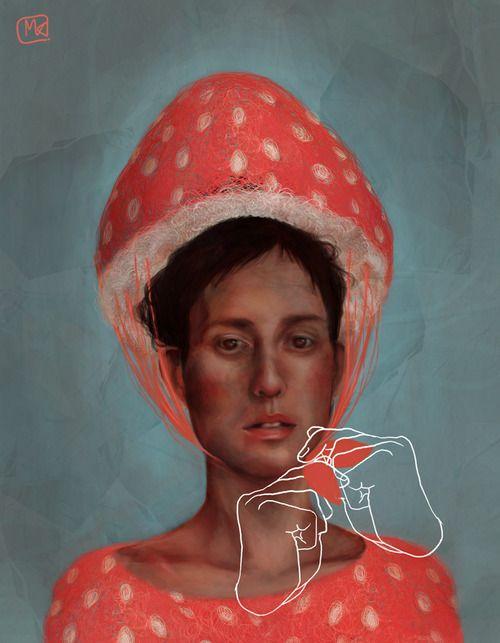 turecepcja:  Digital art byMagdalenaKapinos