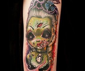 Horror Tattoo by Tatu Baby