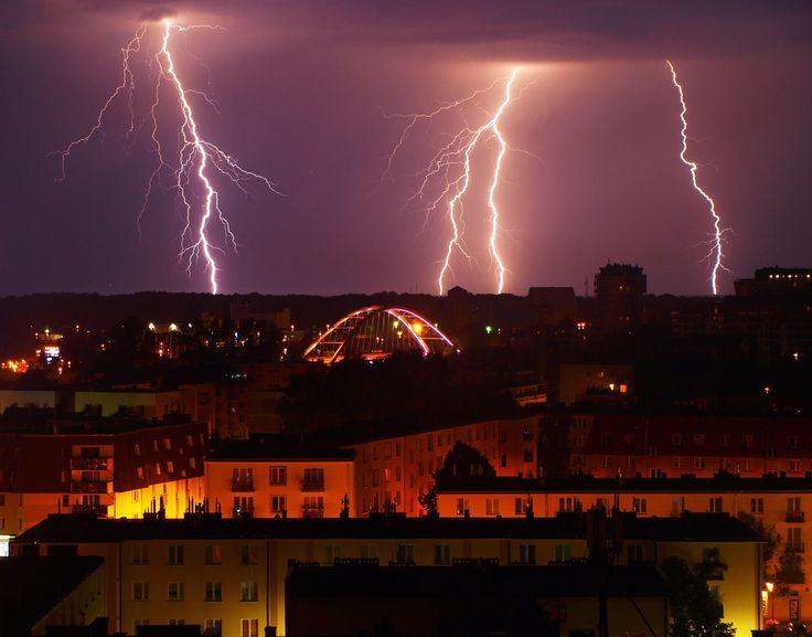 Lightning, Kołobrzeg, Poland