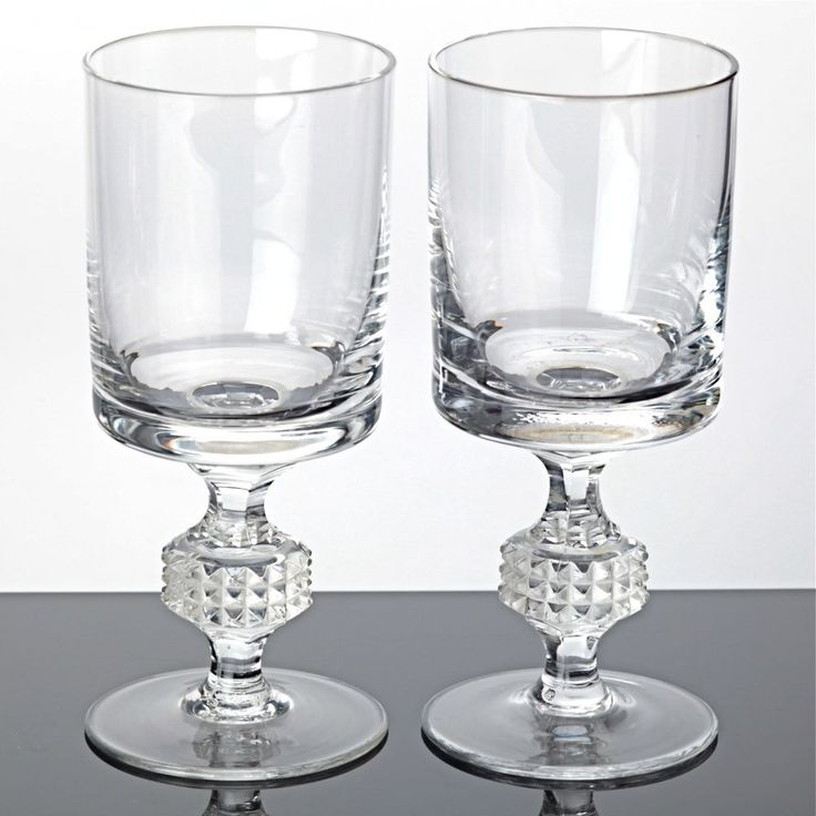 2 Weingläser Spiegelau Irina 14 cm Kristall Gläser