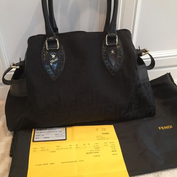 FENDI  2jours medium Bag 8BN162 Authentic - like new, no trades, gently used a handful of times.  No stains or signs of wear. I have original sales receipt and duster. FENDI Bags