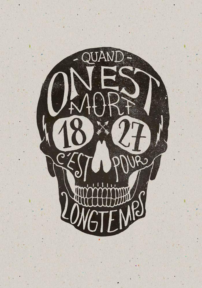 Skulls & Quotes / Bmd Design                                                                                                                                                                                 Plus