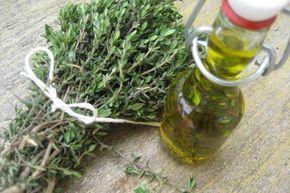 Tymiánový olivový olej