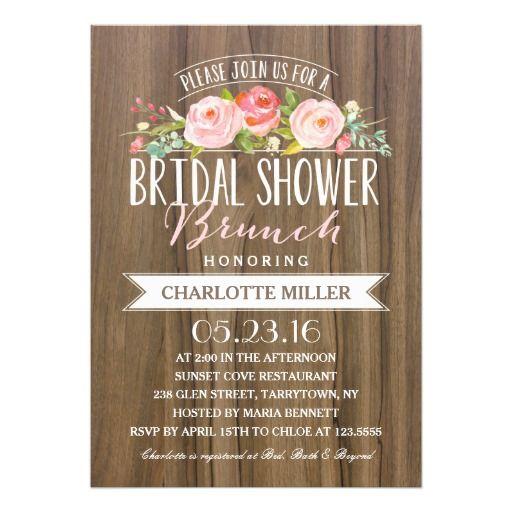 Rose Banner Brunch | Bridal Shower