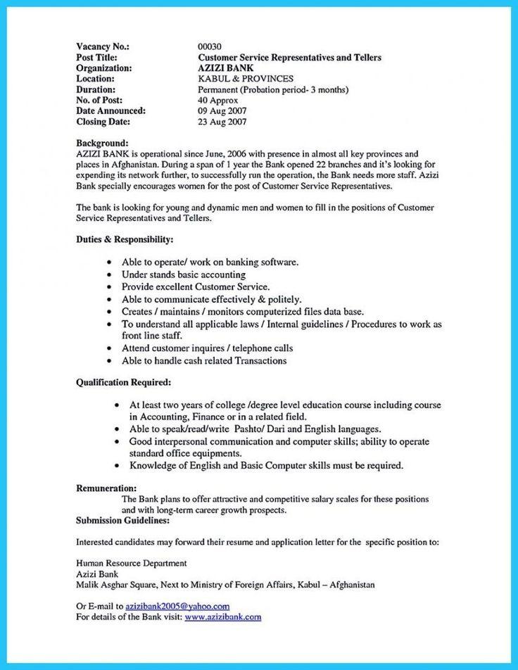 Bank Teller Job Description Resume Unique Bank Teller