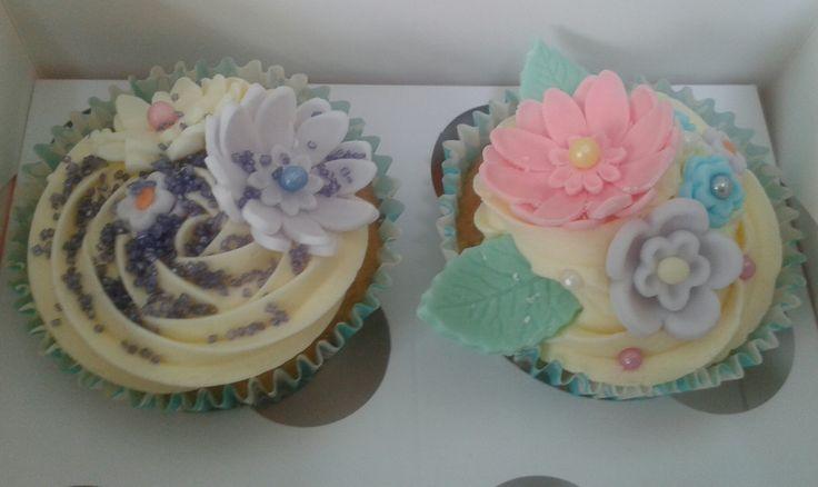 A cupcake decorating evening at church
