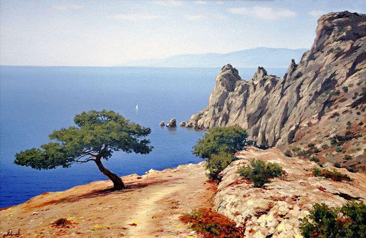 крымские пейзажи живопись: 17 тыс изображений найдено в Яндекс.Картинках