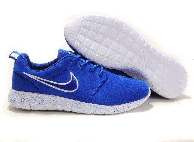 2013 Design Nike Mens Roshe Running Shoes Wool Skin Blue Cheap Sale
