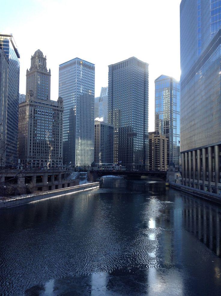 VIDA Foldaway Tote - Chicago Foggy Skyline by VIDA BowBrnVUHP