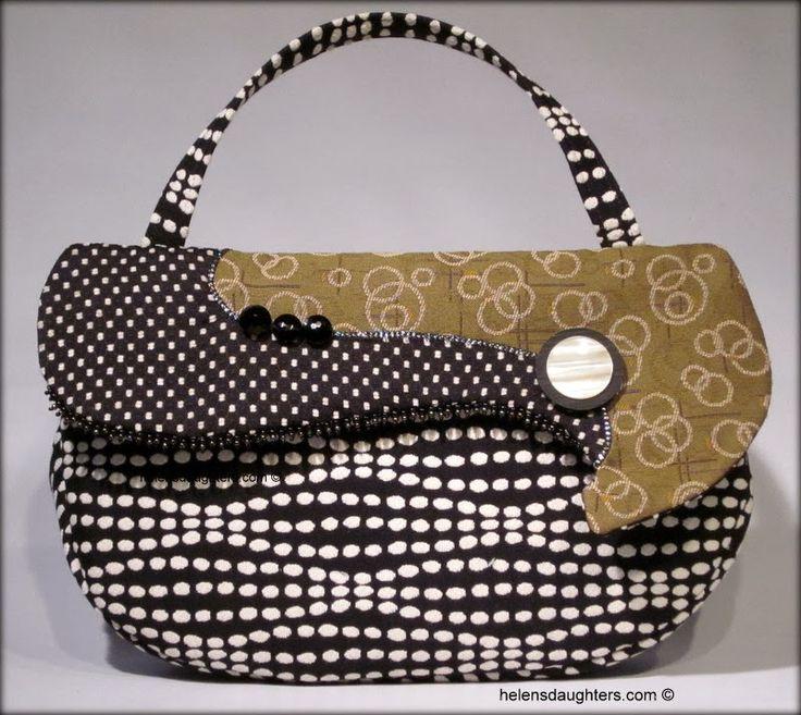 Helen S Daughters Studio Handmade Purseshandmade Handbagsfabric