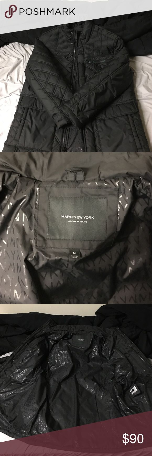 Marc New York Andrew Marc Quilted Jacket 4 pocket Medium size quilted jacket from Andrew Marc Marc New York. Excellent condition, hardly ever worn. Andrew Marc Jackets & Coats Puffers