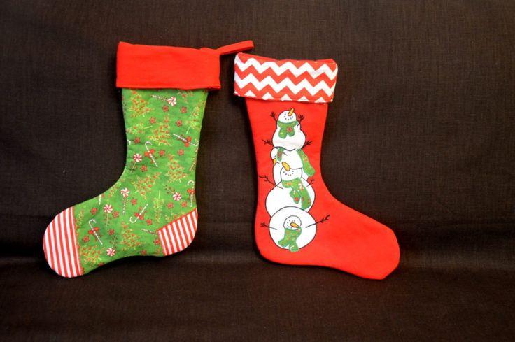 Mikulášské ponožky; Christmas stockings