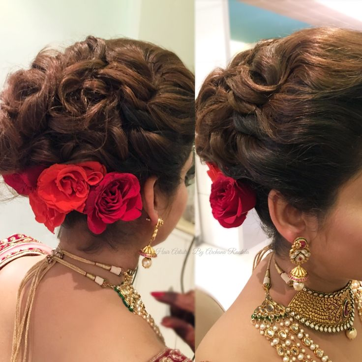 Pre wedding hair goals Entwined hair look for cocktail  Hair Artistry By Archana Rautela