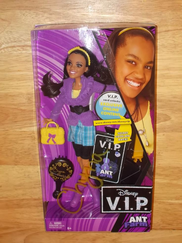 Disney V.I.P. Doll A.N.T. Farm CHYNA PARKS China Anne McClain NIB HTF