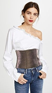 New Tibi Metallic Corset online. Find great deals on Joie Clothing from top store. Sku yydi99956hbkx14167