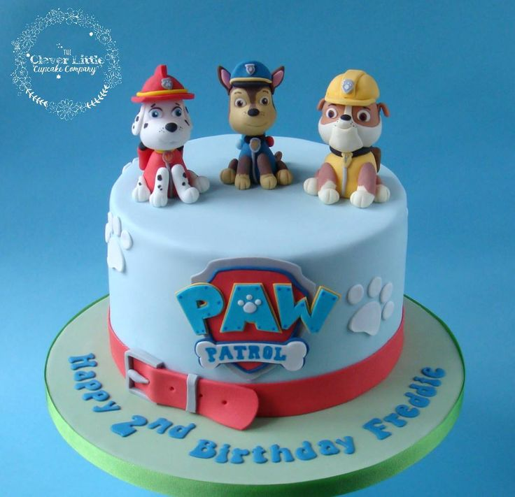 160 best Paw Patrol Cakes images on Pinterest Paw patrol