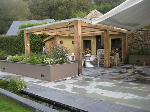 25 best steel pergola ideas on pinterest pergolas wooden pergola and pergola shade covers - Glas pergola ...
