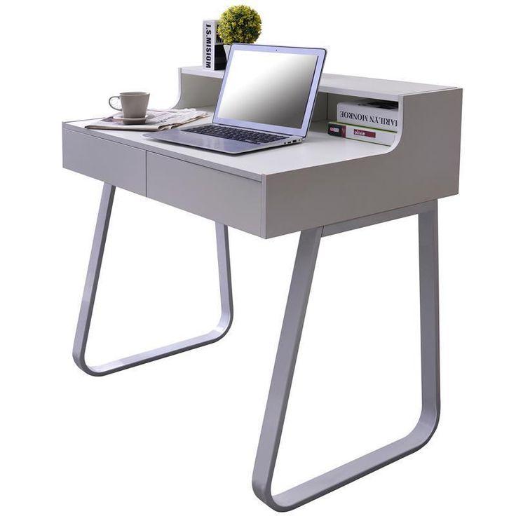 M s de 1000 ideas sobre escritorio blanco de oficina en for Mesa ordenador amazon