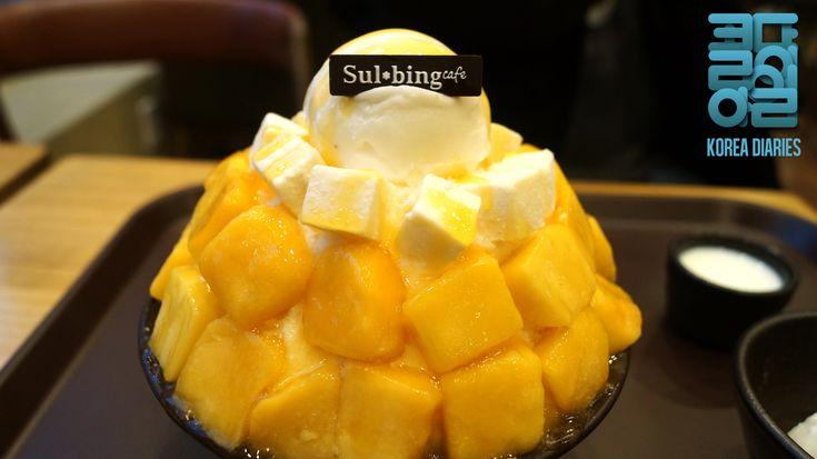Mango Binsu at Sulbing - Korea Diaries
