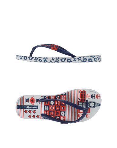 IPANEMA Girl's' Toe strap sandal Dark blue 10C US