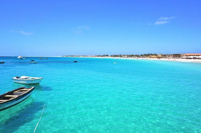 Santa Maria, isla de Sol - Cabo Verde via Flickr