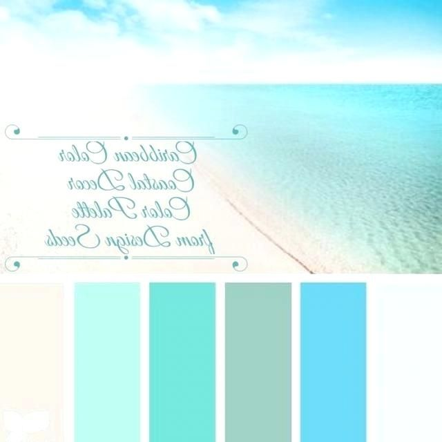 Caribbean Color Palette Photo Of Coastal Decor Color Palette Color