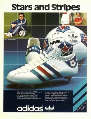 Adidas classic NASL shoes (and ball!)