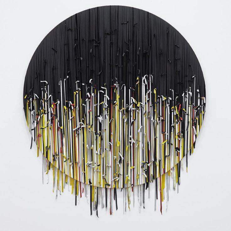 Eva Rothschild, 'Half Sun', 2014, wood, leather.  Eva Rothschild's exhibition 'Alternative to Power' opens next Friday 23rd September at The New Art Gallery Walsall.  @evarothschild #evarothschild @thenewartgallerywalsall