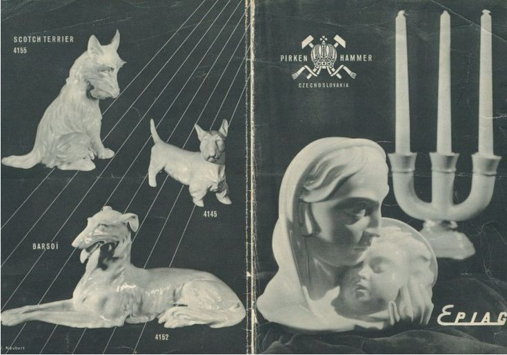 Pirkenhammer Epiag 1928 Prospekt