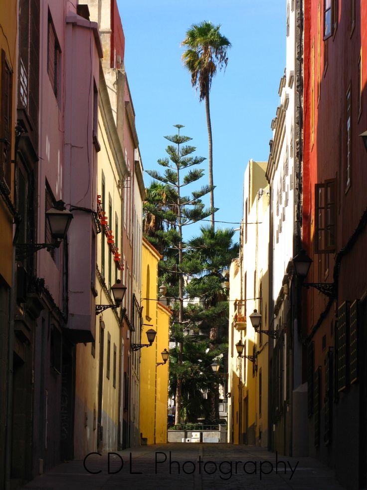 """Lane of Colors""                                           Las Palmas, Gran Canaria (Canary Island)"