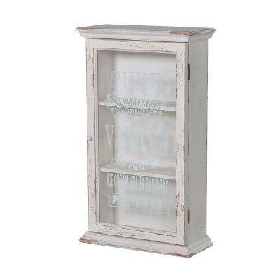 Shabby Chic Pure Vanilla Wall Cabinet