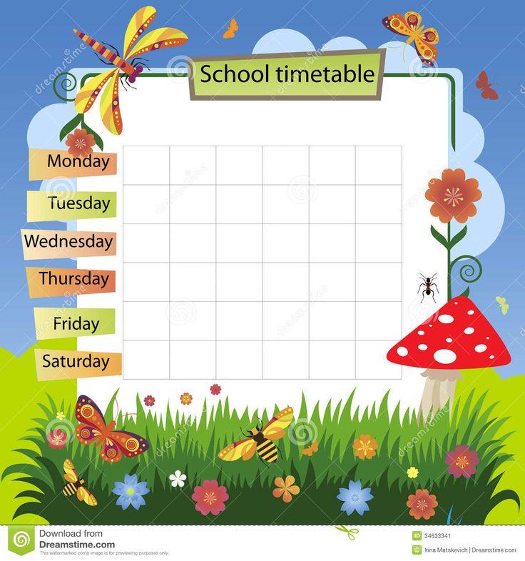 class schedule clipart Buscar con Google Class