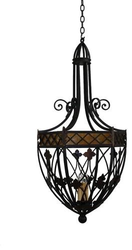 Custom Iron Pendant Lights - mediterranean - pendant lighting - san diego - Hacienda Lights and Iron