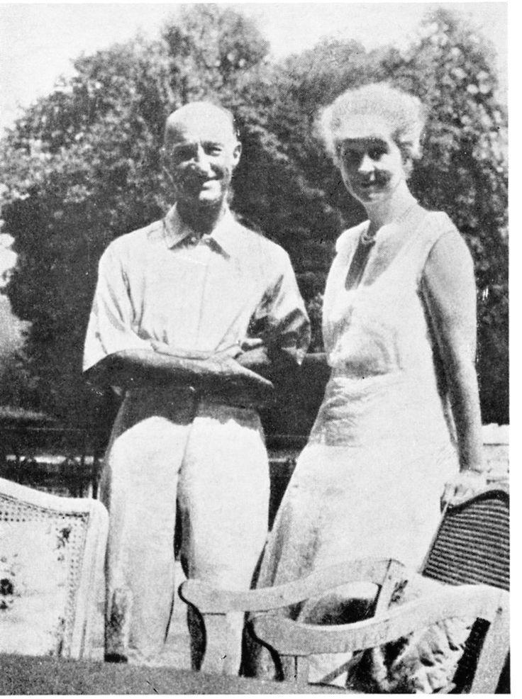 Consuelo Vanderbilt Balsan and Jaques Balsan