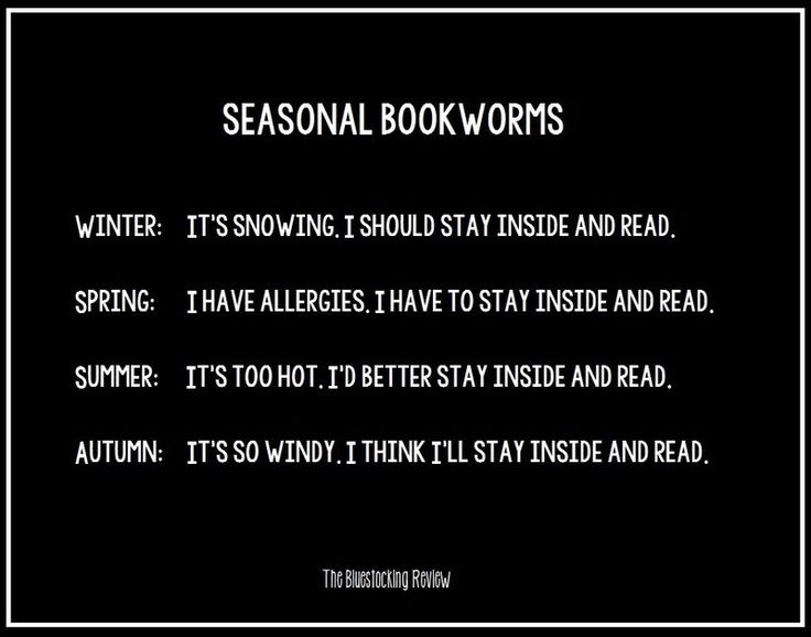 Seasonal Bookworms - Writers Write Creative Blog