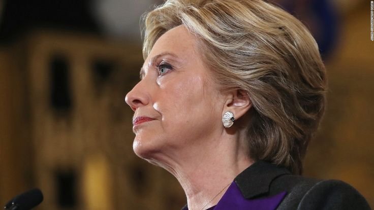 """""""[N]ever stop believing that fighting for what's right is worth it.""""  Speech (full text) Hillary Clinton conceded the election to President-elect Donald Trump."""