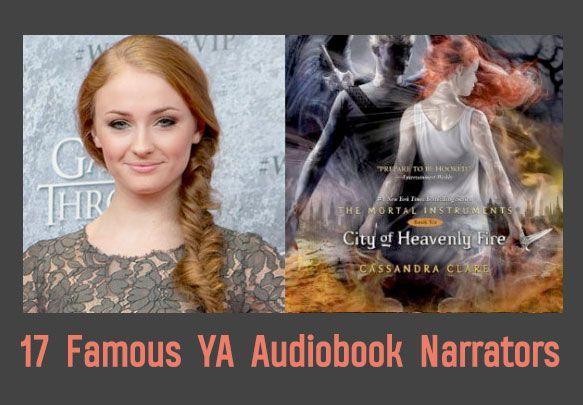17 Famous YA Audiobook Narrators - epicreads.com