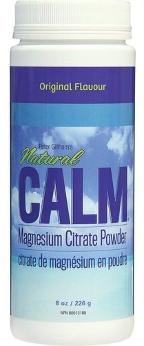 Natural Calm Magnesium Citrate Powder - Original Flavour $29.99 - from Well.ca