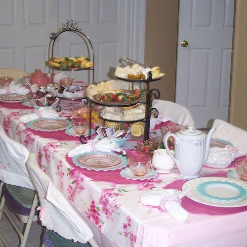 Tea Party Decorating Ideas