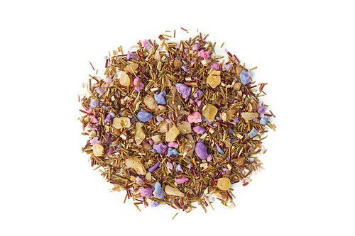 Yes, cotton candy tea ($8) exists, and David's Tea is making it. The rooibos-based tea contains sprinkles, mango, and hazelnut brittle to give it the signature carnival-treat flavor.  — AMR