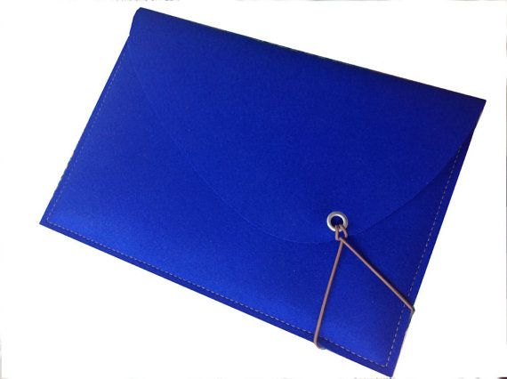 royal blue case for Mac Air 13 ins MacBook bag by ScanClassic