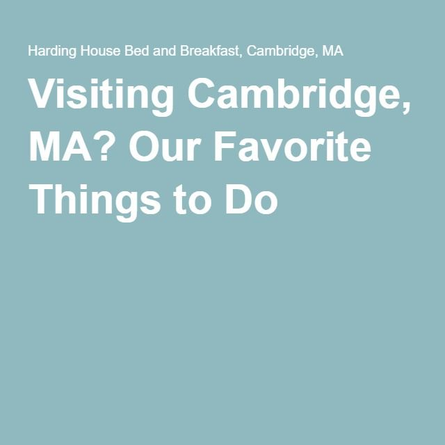Best 25 cambridge ma ideas on pinterest harvard square for Things to do near times square