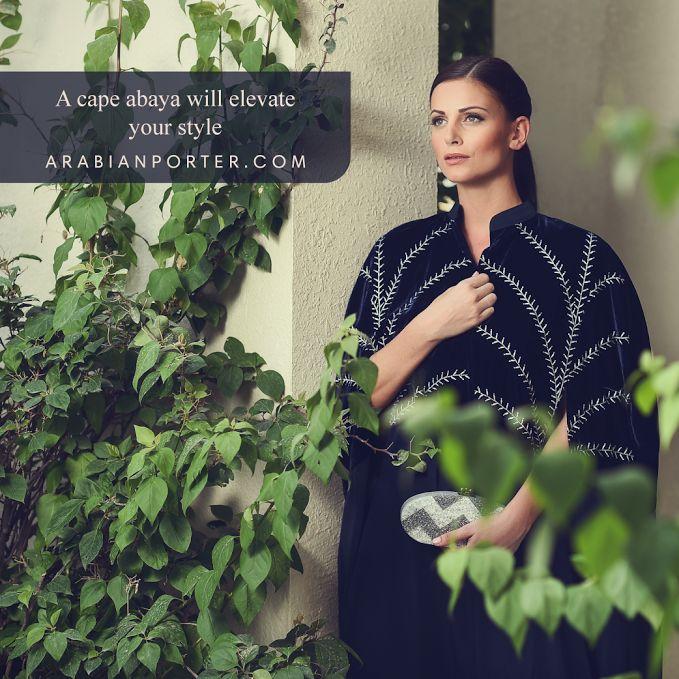 Shop now the exclusive day #Abaya collections from @FUFIDesign  @ arabianporter.com #Luxuryfashion #onlineshop #Qatar #Dubai #Saudiarabia #Kuwait #Bahrain