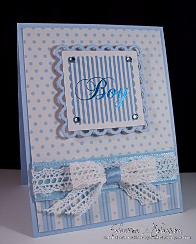 Sweet Baby Boy by notimetostamp - Cards and Paper Crafts at Splitcoaststampers