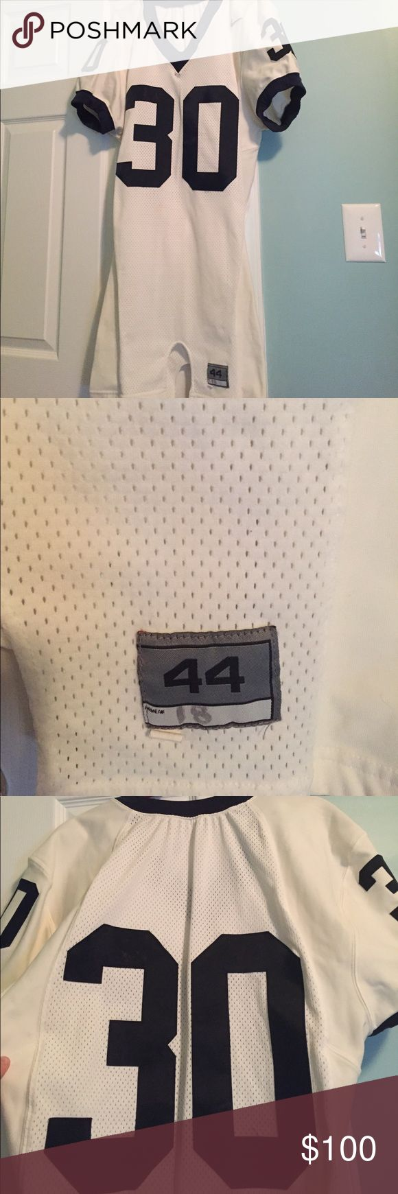 Penn State Game worn jersey #30 Nike Game worn condition #30 game day jersey, purchased from the school. Tag at bottom says: 44 name 18 /LB. smoke free pet friendly home. Nike Other