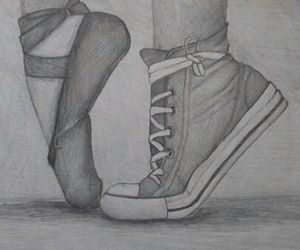 Drawings of gymnastics! ♥ by AmyBloo on We Heart It